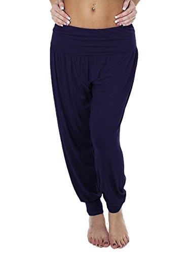 New Womens Ladies Full Length ALI Baba Harem Hareem Pants Trousers Size 8-26