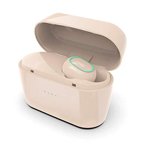 Rich-home Hautfarbe Bluetooth Kopfhörer Wireless Headset in Ear Bluetooth Kopfhörer mit Portable Ladebox Sport Joggen hrhörer Mini Wireless Headphones