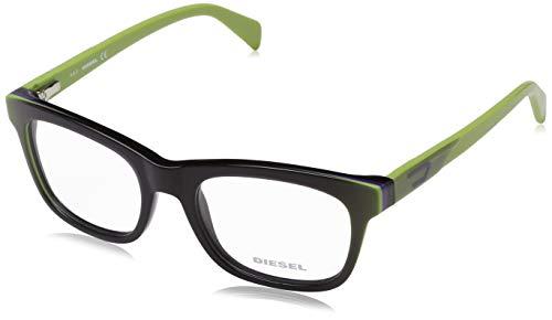 Diesel Unisex-Erwachsene Brillengestelle Green 53