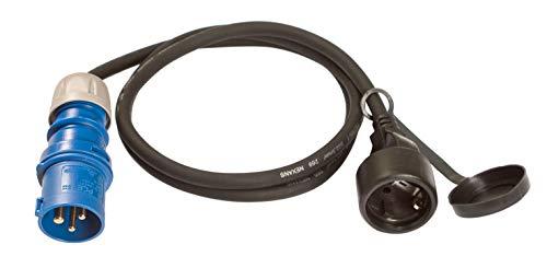 ViD® CEE Adapterleitung 1,5m schwarz 230V 16A 3polig IP44