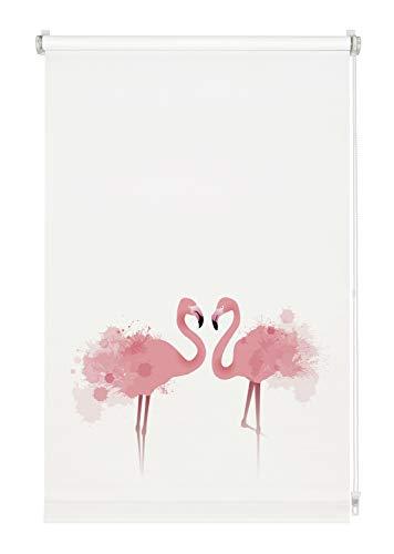 Gardinia Flamingo - Estor (poliéster, 90 x 150 cm)