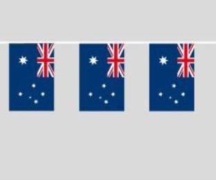Fahnenkette Australien 5 m lang Fahnengirlande