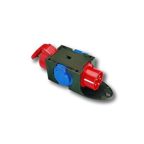 Preisvergleich Produktbild PC-Electric PCE9430402 Kunststoffverteiler Anton 1 CEE/ 2 schuko