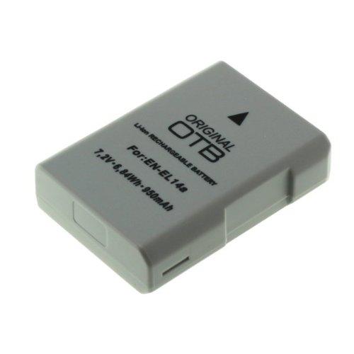 Akku für Nikon EN-EL 14a | für Nikon D3300 D5300 . Nikon Df | EN-EL14a ENEL14a