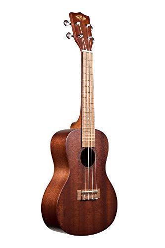 Kala Konzert-Ukulele, Satin-Mahagoni, inkl. Konzerttasche und Saitensatz