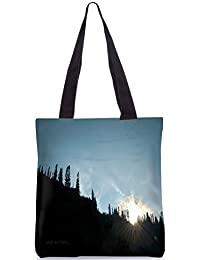 Snoogg Tote Bag 13.5 X 15 Inches Shopping Utility Tote Bag Made From Polyester Canvas - B01GCIMAJW