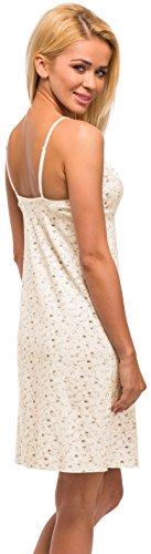 Merry Style Damen Nachthemd Modell 959 Ecru