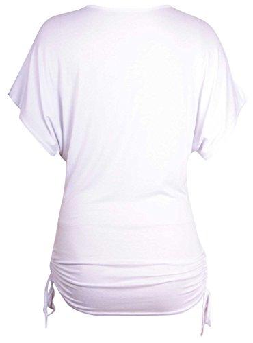 Purple Hanger Damen T-Shirt Weiß