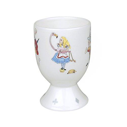 Sophie Allport Coquetier en porcelaine fine - Alice au pays des merveilles