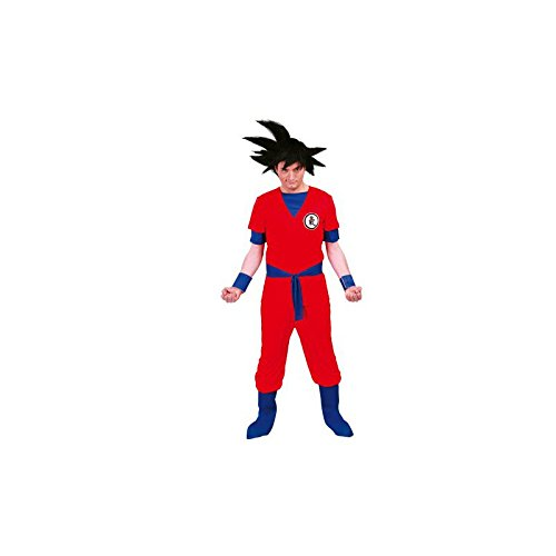 Guirca - Disfraz para adultos de guerrero Son Goku, talla M - L (80627