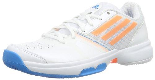 adidas Performance Galaxy Allegra III Q22087, Scarpe da tennis Donna, Bianco (Weiß (Running White FTW/Glow Orange S14/Solar Blue S14), 36