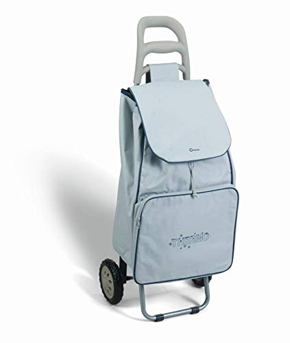 Metaltex 415280125 Krokus Shopping Trolley, grau