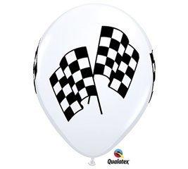 Racing Flags Nascar Indy Race Qualatex 11 Latex Victory Party Balloons 12pk by Burton & Burton