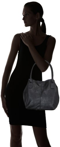 Tom Tailor Acc MIRIPU 10990 Borsa Shopper Donna 44x28x18 cm (B x H x T) Nero (Schwarz (schwarz 60))