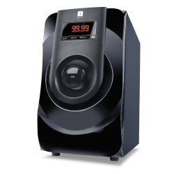 iBall MJ BT9 Speakers Bluetooth/USB/SD Inputs, FM Radio, LED Display, Remote Control