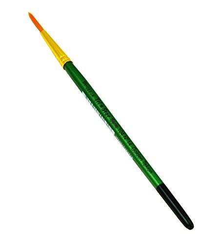 tristar-serie-104-lot-de-5-pinceaux-poils-synthetiques-ronds-n14-taklon-or-manche-vert