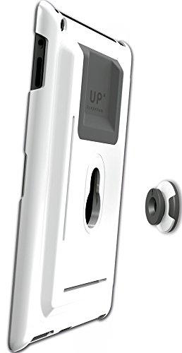 GISAN UP100/BL - Schutzhülle, Tischständer & Wandhalterung für Apple iPad, weiß