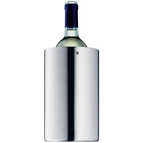 WMF Weinkühler, Sektkühler Manhattan, Edelstahl Cromargan mattiert, doppelwandig, H 19,5 cm, Ø 12 cm - 3