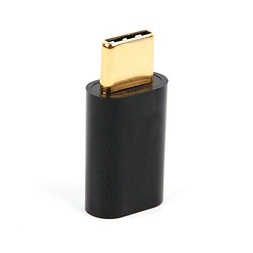 Adapter USB-C auf Micro-USB. Zum Datenübertragen, Syncen & Aufladen Ihres Smartphones/Tablets/PC/Notebooks. Für HTC U 11 und Huawei Honor 9 | Mate 10 (Pro) | Mate 10 Porsche Design