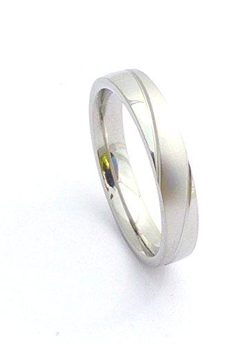 Trendit edle Edestahl Ringe für Sie und Ihn hochwertige Verarbeitung viele Modelle (58, S4)