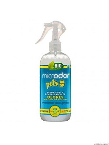 BACTEMIA microdor Pets 500 ML éliminateur et contrôleur d'odeurs pour Animaux de Compagnie en Casetas, Cages, Areneros.