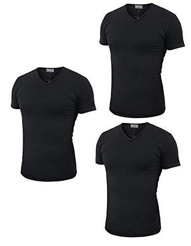 a32cefe4ef9c Prezzo Enrico coveri t-shirt uomo v 3 pz. (3, nero) (xl, nero).  Caratteristiche ed informazioni su enrico coveri ...