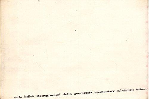 Stenogrammi della geometria elementare