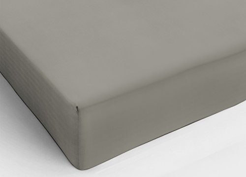 Claire Maison Spannbettlaken Taupe Doppelbett King Size (180x 200cm)