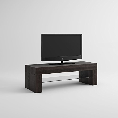 mobilifiver Evo Mobile-TV, Holz, Eiche dunkelbraun, 112 x 40 x 36 cm