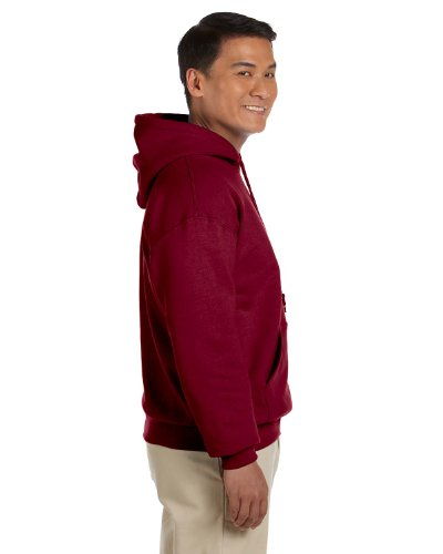 GILDANDamen Kapuzenpullover - Antique Cherry Red
