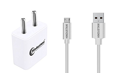 A2Z Shop Charger Adapter 2 Ampere Mobile Fast Wall Travel Battery Power USB Andriod Smartphones Charger with Micro USB Data Charger Cable for BlackBerry Z3 BlackBerry Z 3 (2A White Black)