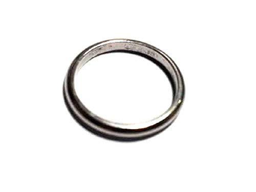 619a2ba6b95a27 artigianale Anello fermanello Ferma Anello Argento 925 Colore Bianco Misura  5,Misura Italiana Silver Ring