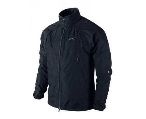 Nike Herren Laufjacke Shifter black/black/reflective silver