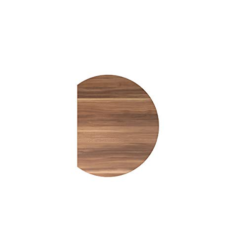 Hammerbacher Anbauplatte | Rund | 80 x 100 cm | Zwetschge | VXBA80/Z/W -