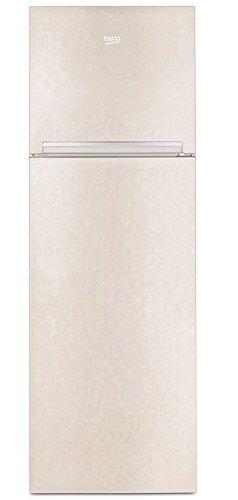 Beko RDSA310M20B Frigorifero con congelatore (Libera installazione 306L A+), Colore Sabbia