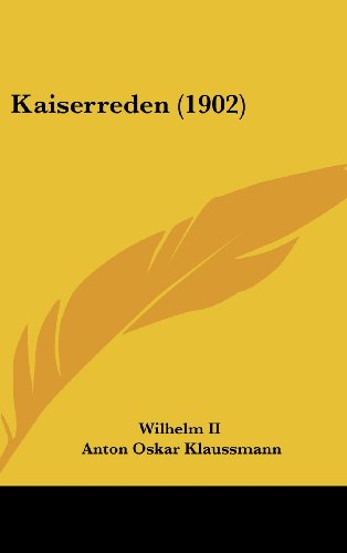 Kaiserreden (1902)