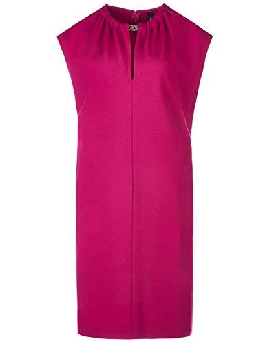 Marc Cain Collections Damen Kleid GC 21.31 J24 Rot (Dahlia 263)