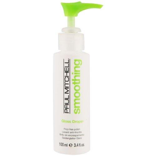 Paul Mitchell Smoothing Gloss Drops, Glanzbildner für seidenglatten Glanz, 100 ml (Fügen Feuchtigkeit Auf Trockenem Haar)