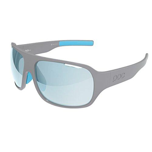 POC DO Flow Sparelens Gläser für Sonnenbrille, Unisex Erwachsene, Unisex - Erwachsene, DO Flow Sparelens, Light blue 58.2 - Blau