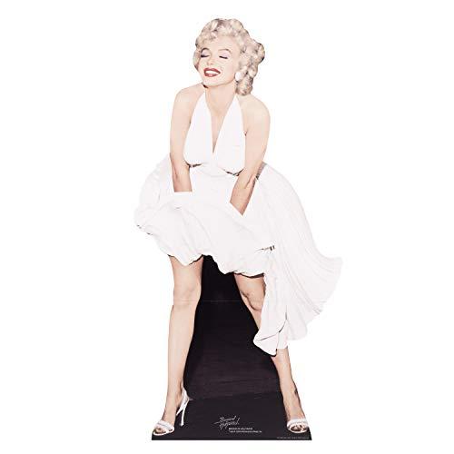 tand-up (Lebensgroßer Pappaufsteller) Marilyn Monroe (Weisses Kleid) ()