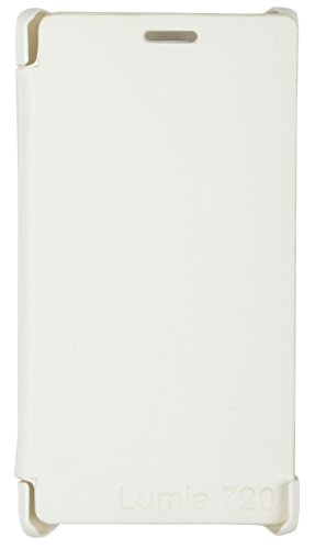 iCandy White Synthetic Leather Flip Cover For Nokia Lumia 720  available at amazon for Rs.99