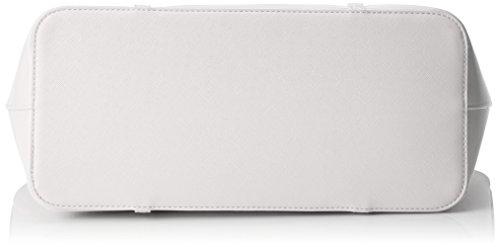 Mario Valentino Damen Sea Tote, 15.5x28.0x34.0 cm Weiß (Bianco)