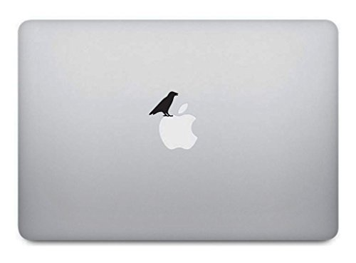 Raven MacBook Aufkleber - Bird Abnehmbare Vinyl Sticker Skin für Apple MacBook Pro Air Mac Laptop Absolute Star -