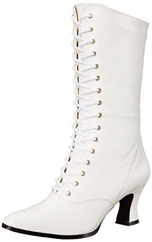 Pleaser Vic120/B/Pu, Bottes Femme - Blanc (White), 40 EU