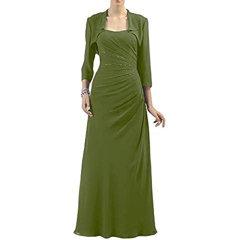 Glamour de novia sin tirantes de la Toscana Bolero vestidos de gasa por la noche con la madre de la novia vestidos de bola de fiesta largo Gruen2