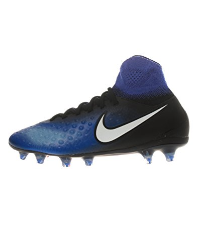 Nike Unisex-Kinder Magista Obra II FG Fußballschuhe, Blau (Blau/Schwarz 015), 38 EU