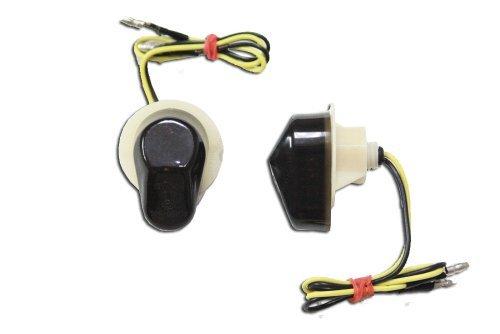 Flush Mount LED Turn Signals - Smoked
