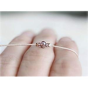 Freundschaftsarmband minimalistisch, Armband mit Glasperle, dezentes Armband, Armband für Frauen,verstellbares Armband,Brautjungfer Geschenk