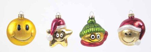 Lustige Weihnachtsfiguren Jokies Smileys Weihnachtsdeko Christbaumschmuck Kugeln Weihnachtskugeln Baumkugeln Baumschmuck Christbaumkugeln Christbaumschmuck Weihnachtsdeko Weihnachtsschmuck