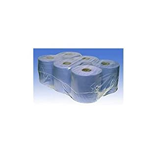 Ashland 2 Ply Blue Centrefeed Rolls - Contract Roll (6 x 130 metre Rolls Per Case)